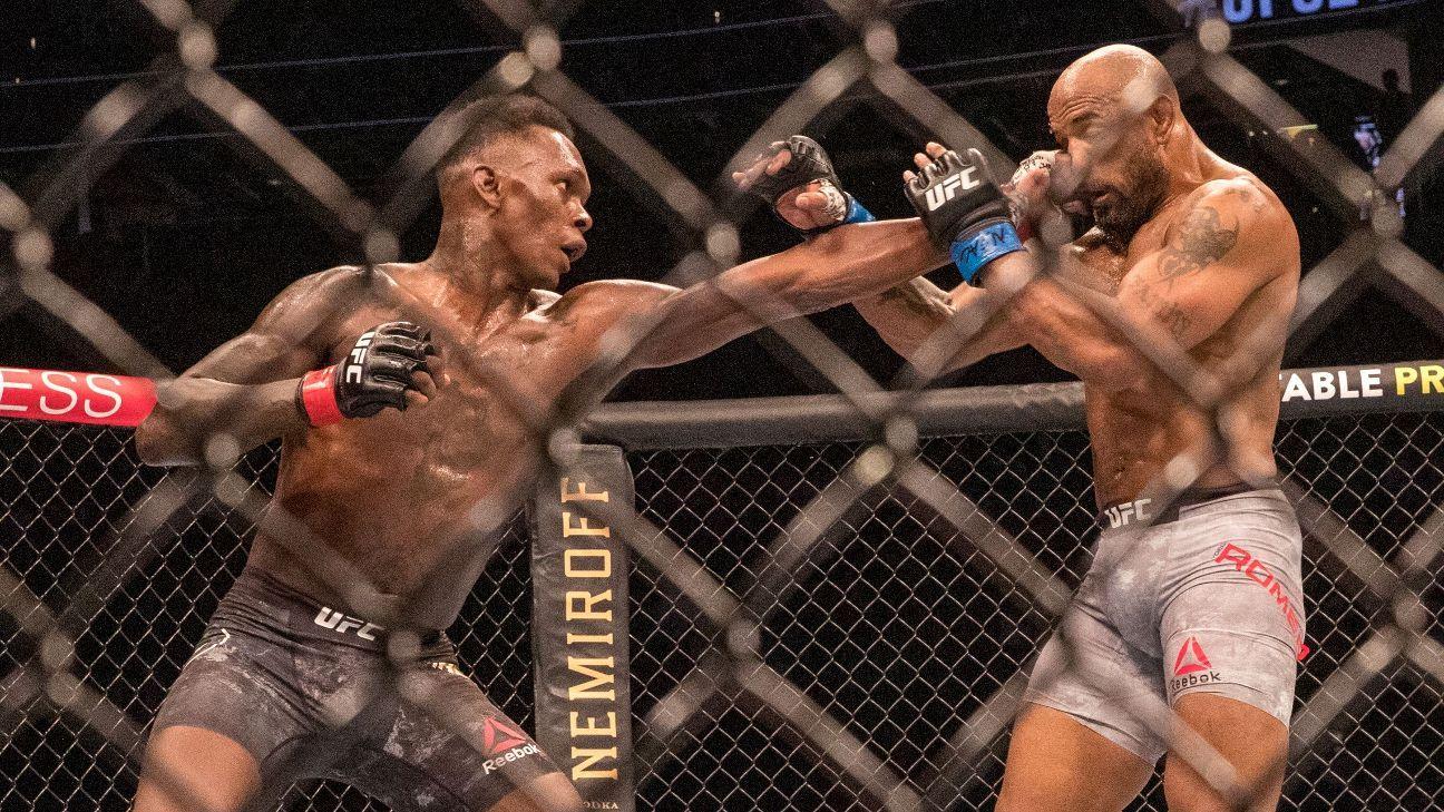 Israel Adesanya unapologetic for UFC 248 performance
