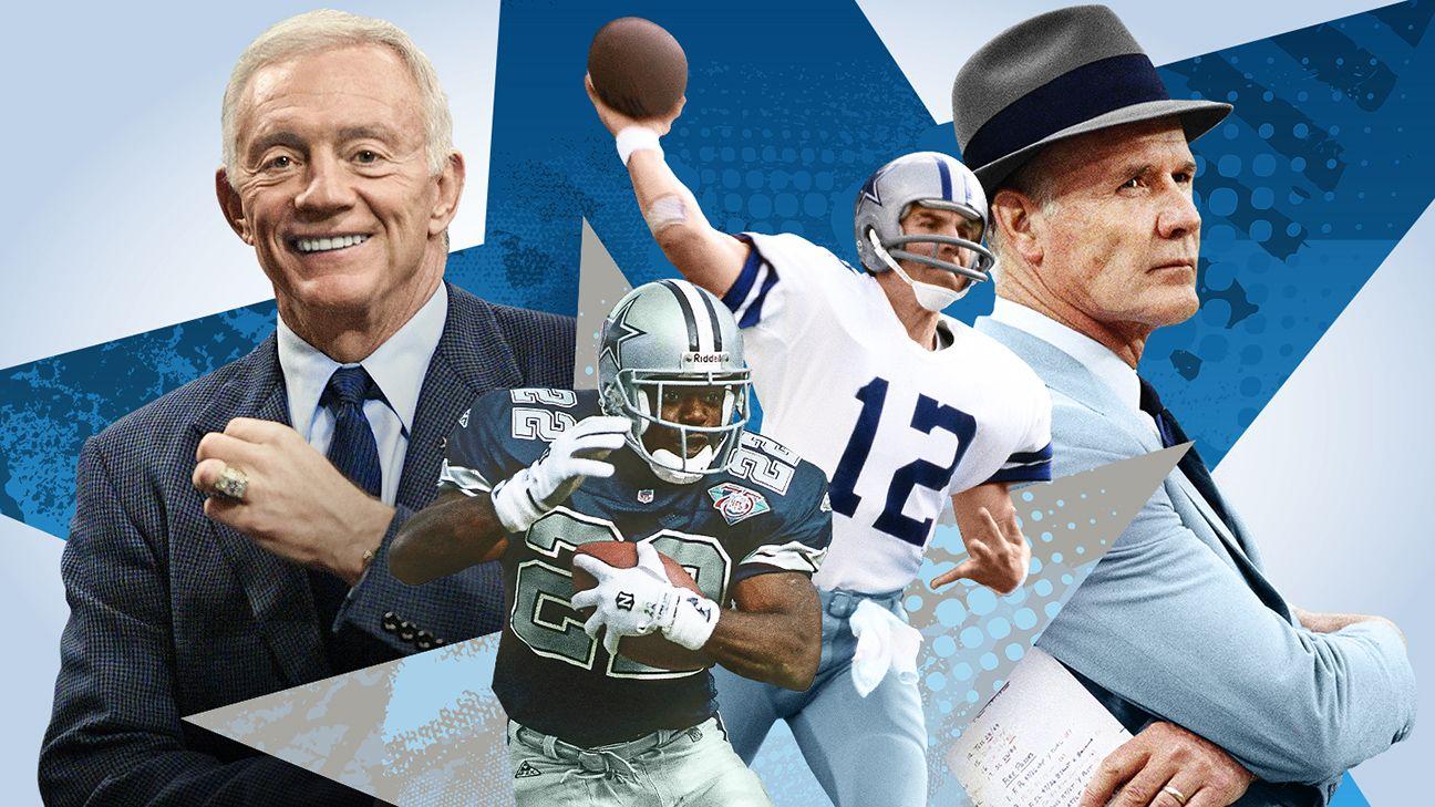 Dallas Cowboys all-time teams: Tom Landry vs. Jerry Jones eras
