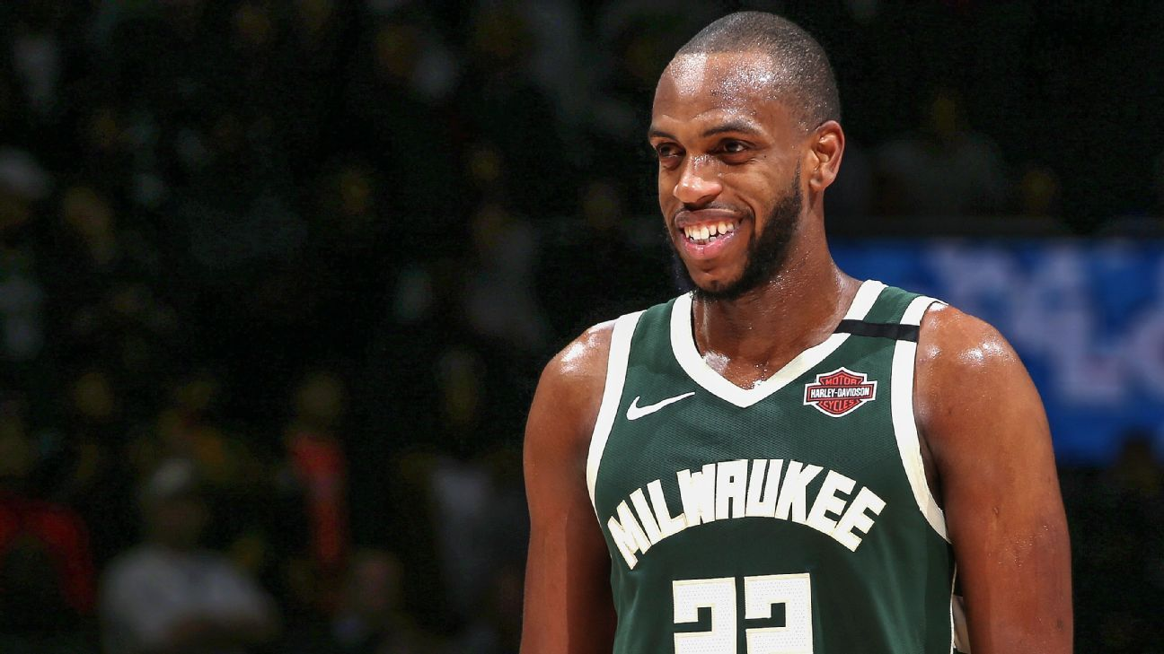 Khris Middleton is staying ready for ...