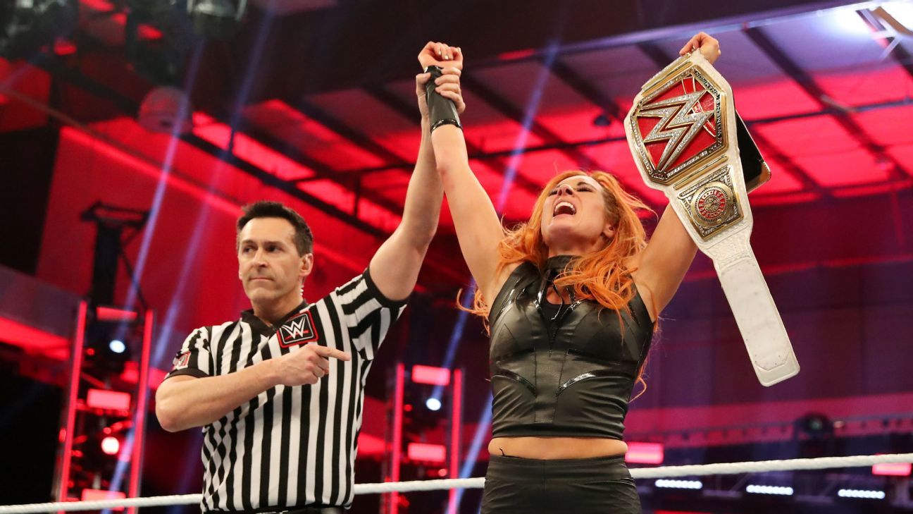Watching WrestleMania 36 at home was unique opportunity for Becky Lynch