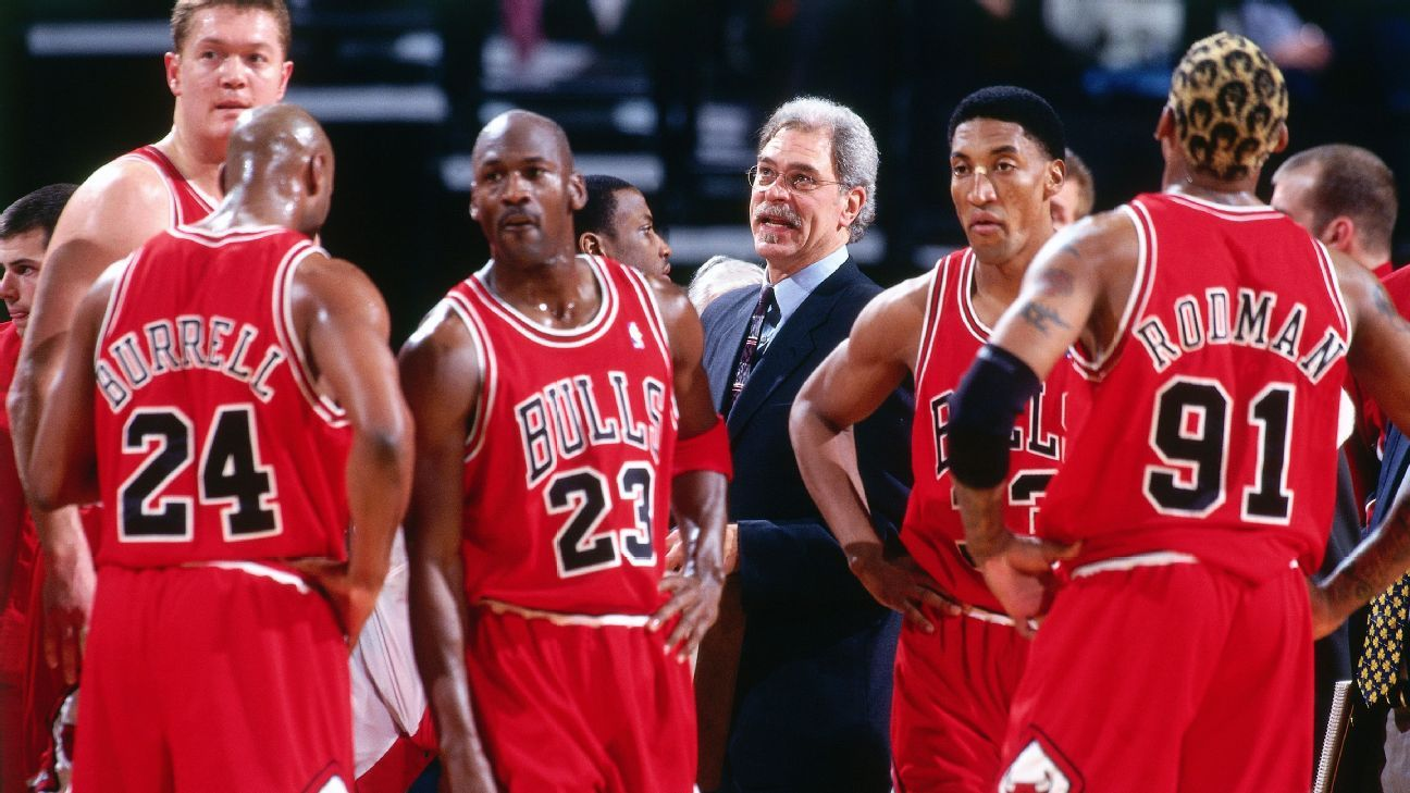 From the archives: Phil Jackson on Rodman, Pippen's trade demand and dreams of Shaq