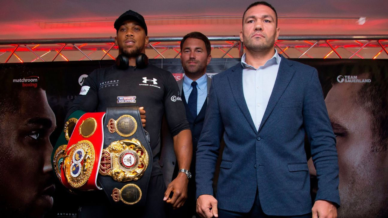 Boxing's industry leaders on how (and when) they'll resume fights
