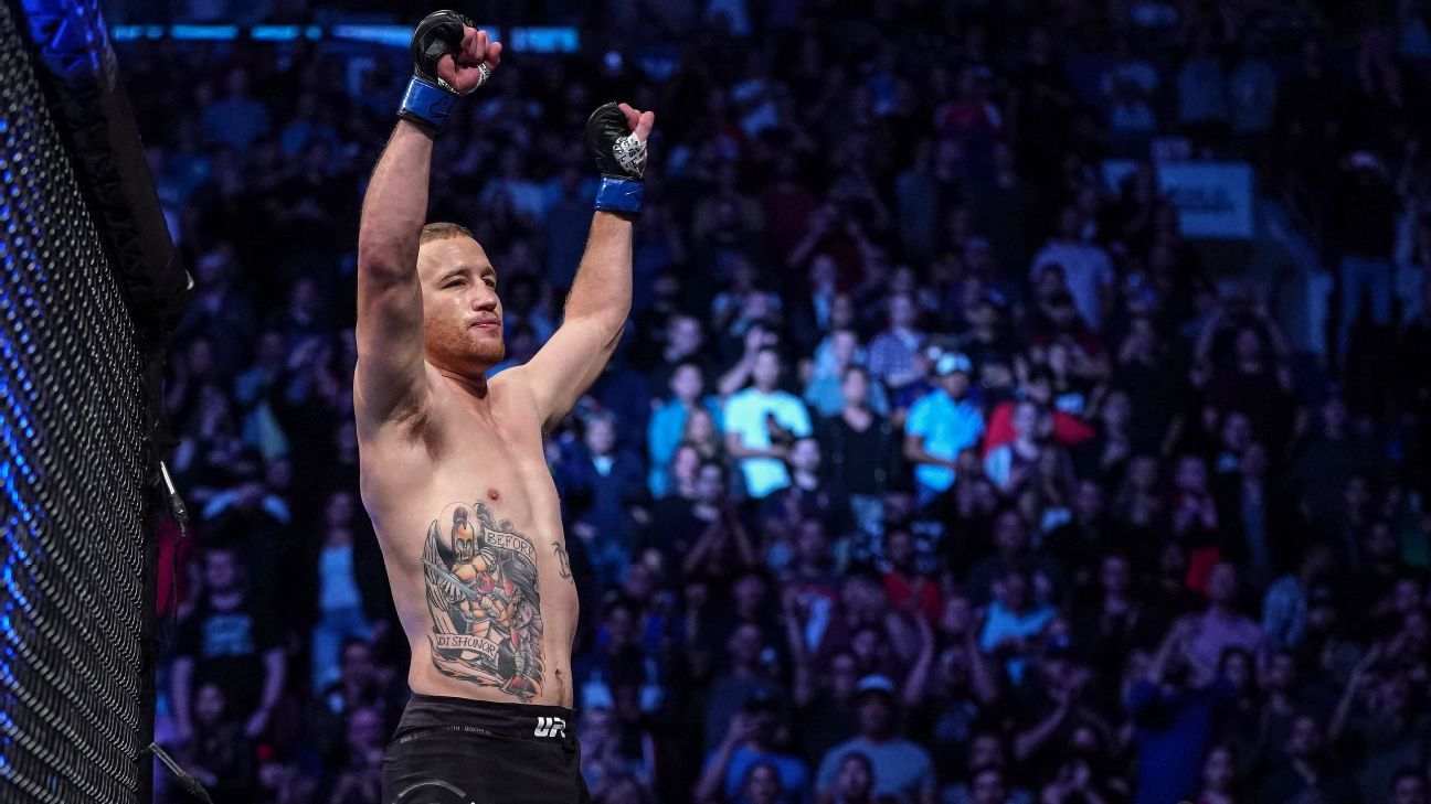 Inside Justin Gaethje's journey from a mining town to MMA stardom