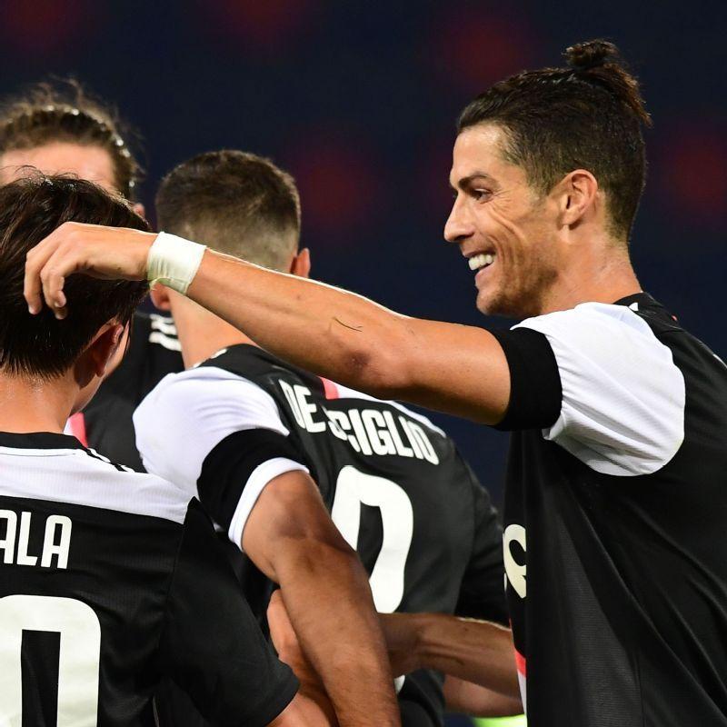 Bologna Vs Juventus Football Match Report June 22 2020 Espn