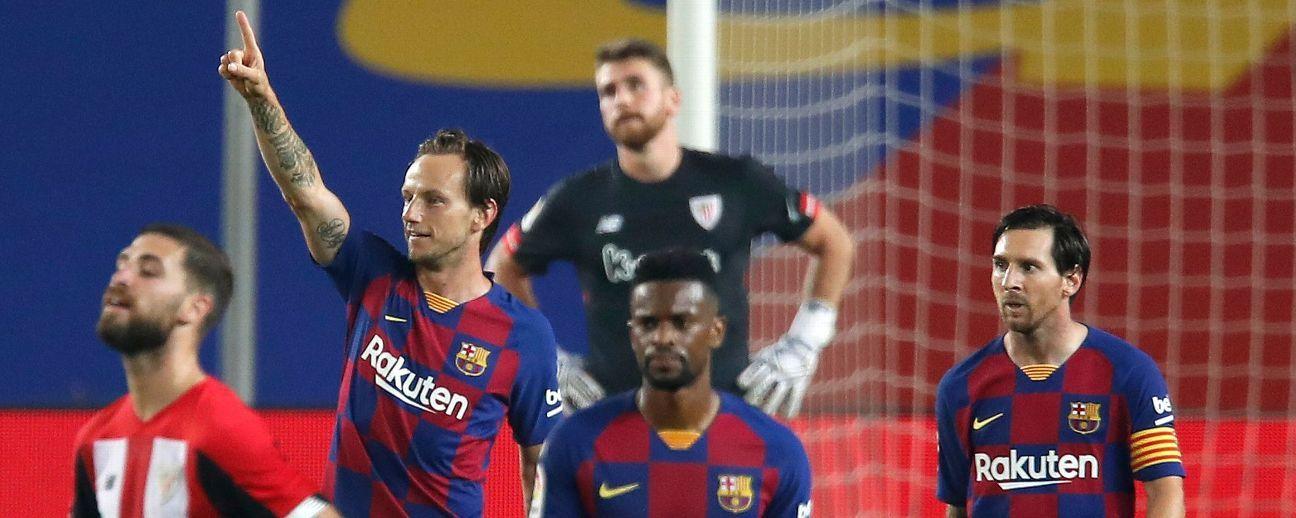 Barcelona vs. Athletic Bilbao - Football Match Report ...