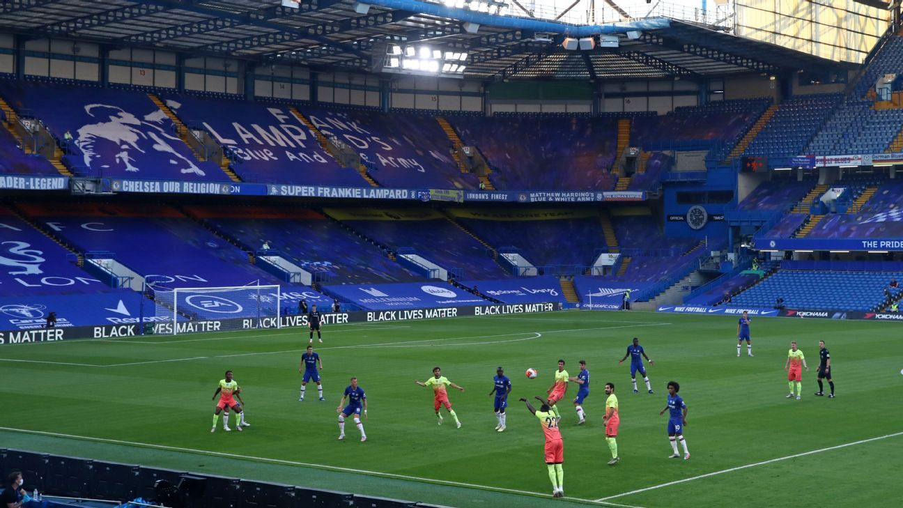 Premier League games with no fans: How players, coaches ...
