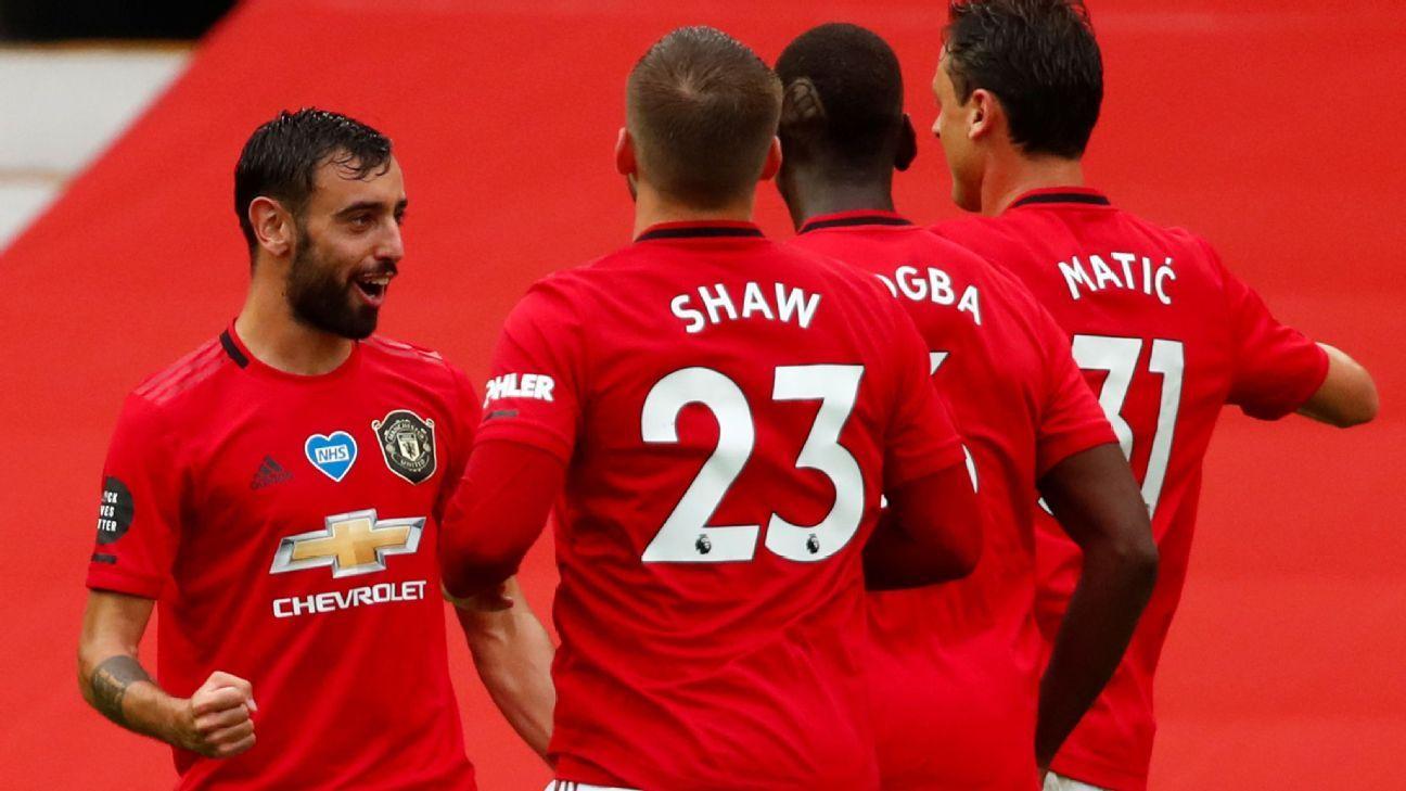 Manchester United: Bruno Fernandes Lidera Participação Em