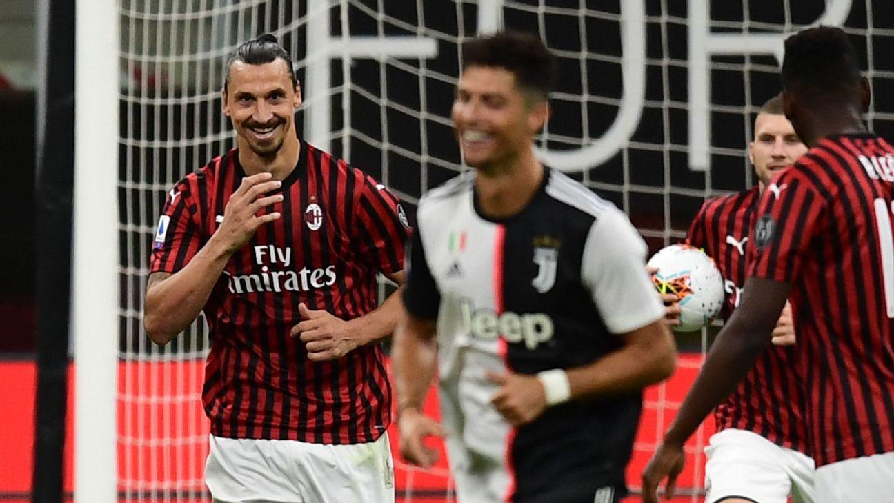 Zlatan Ibrahimovic Jokes That He Runs Ac Milan After Epic Win Over Juventus