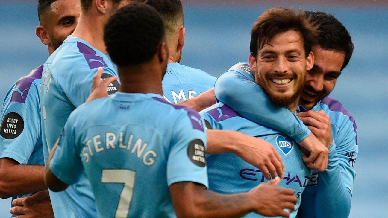 'No chance' David Silva will return to Manchester City - Guardiola - ESPN