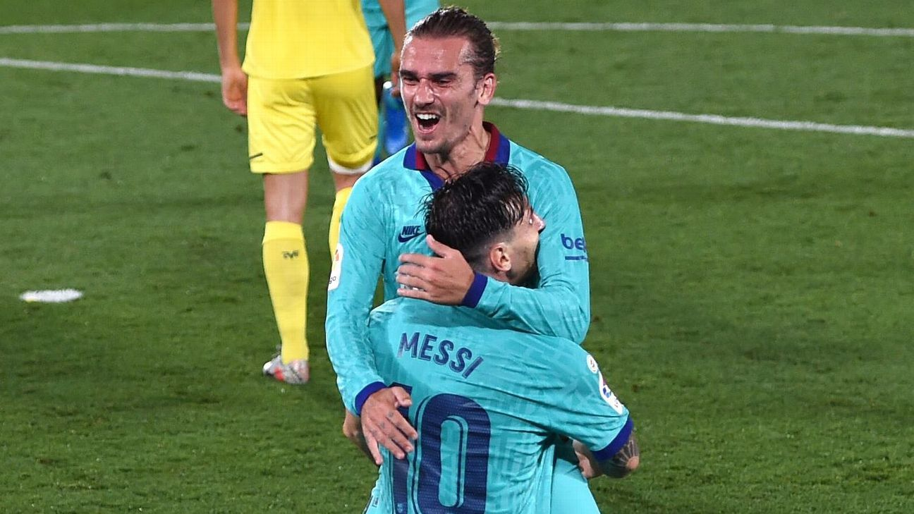 Griezmann: Family barbs haven't hurt Messi bond