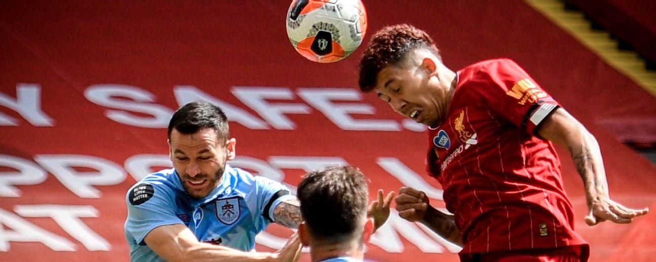 Liverpool vs. Burnley - Reporte del Partido - 11 julio, 2020 - ESPN