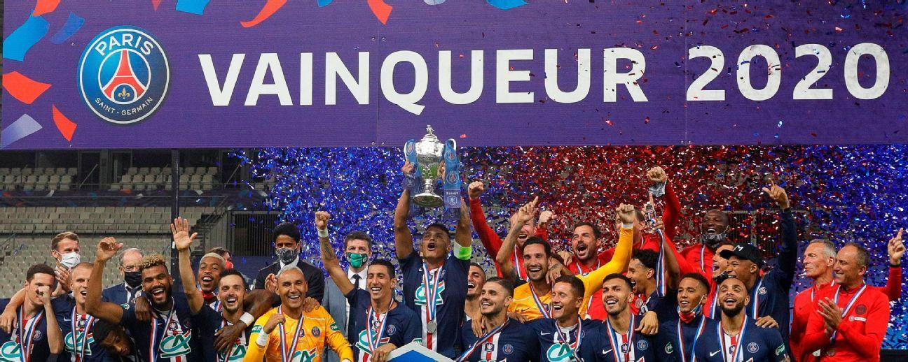 Paris Saint Germain Vs Saint Etienne Football Match Summary