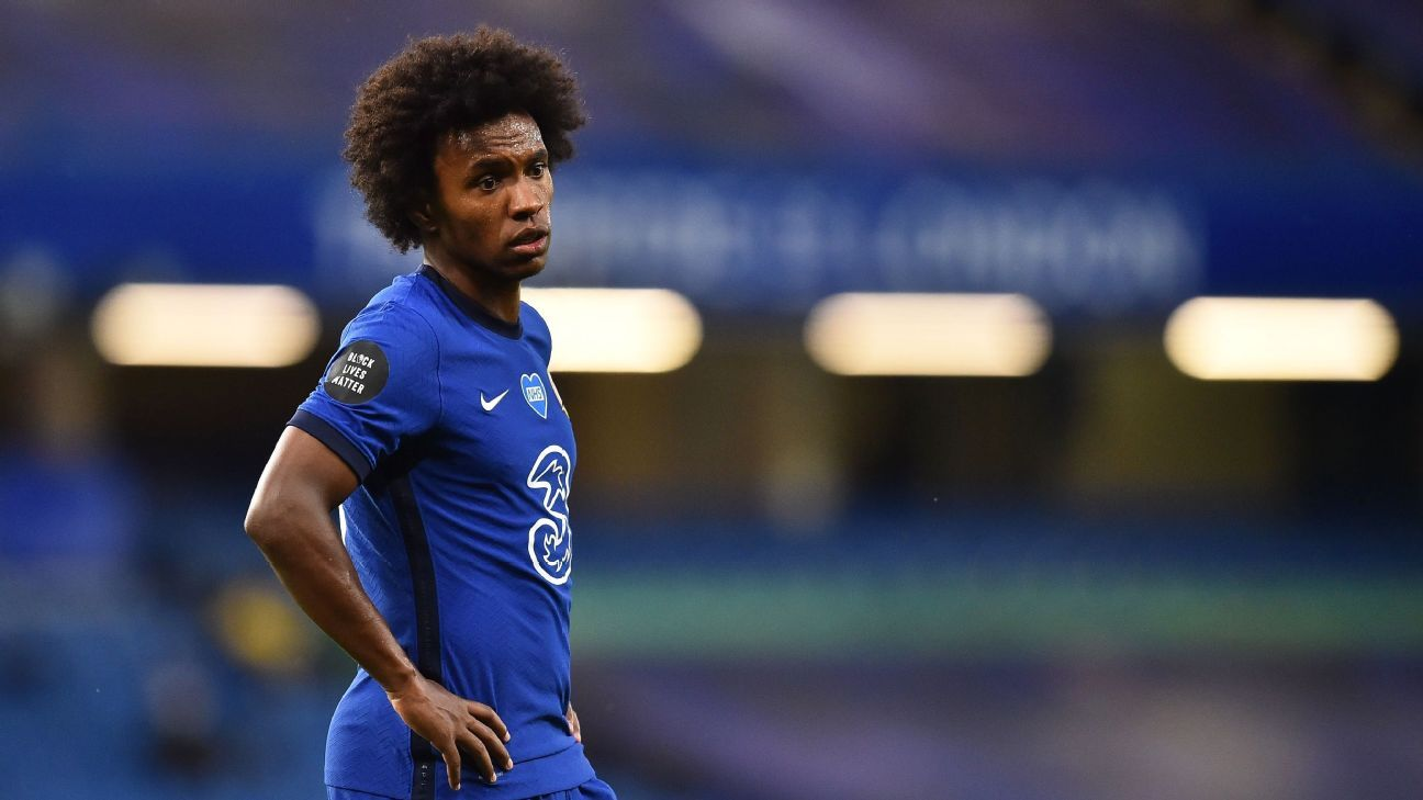 Chelseas Willian to leave if club can't meet contract demands sources - ESPN