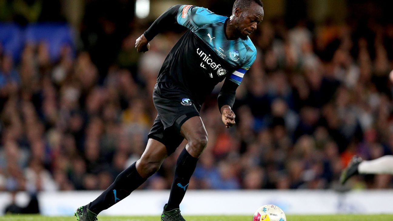 Bolt: I didn't get fair chance as footballer