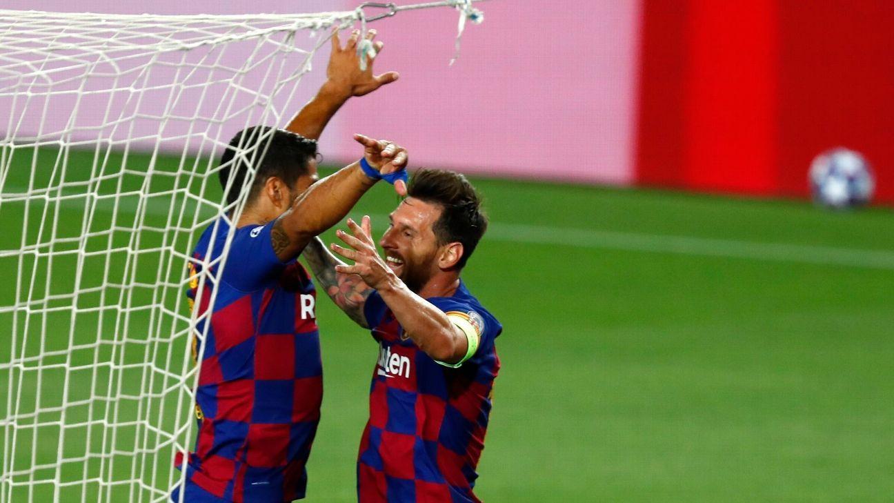 Barcelona vs. Napoli - Reporte del Partido - 8 agosto, 2020 - ESPN