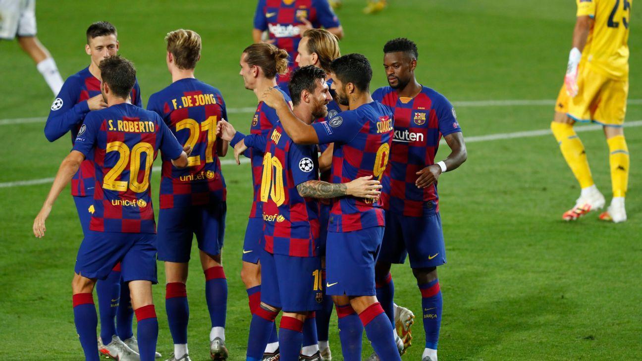 Al Barcelona le basta con ganar al Bayern