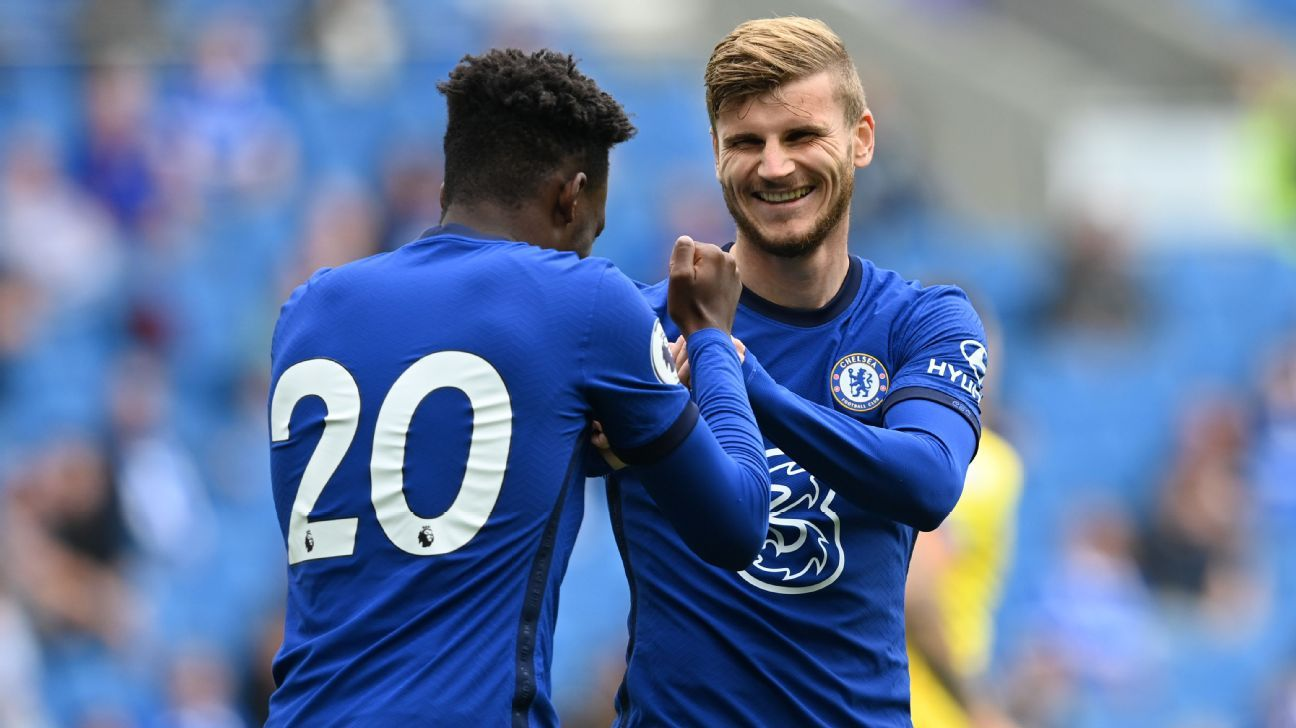 Chelsea's Timo Werner scores in debut against Brighton