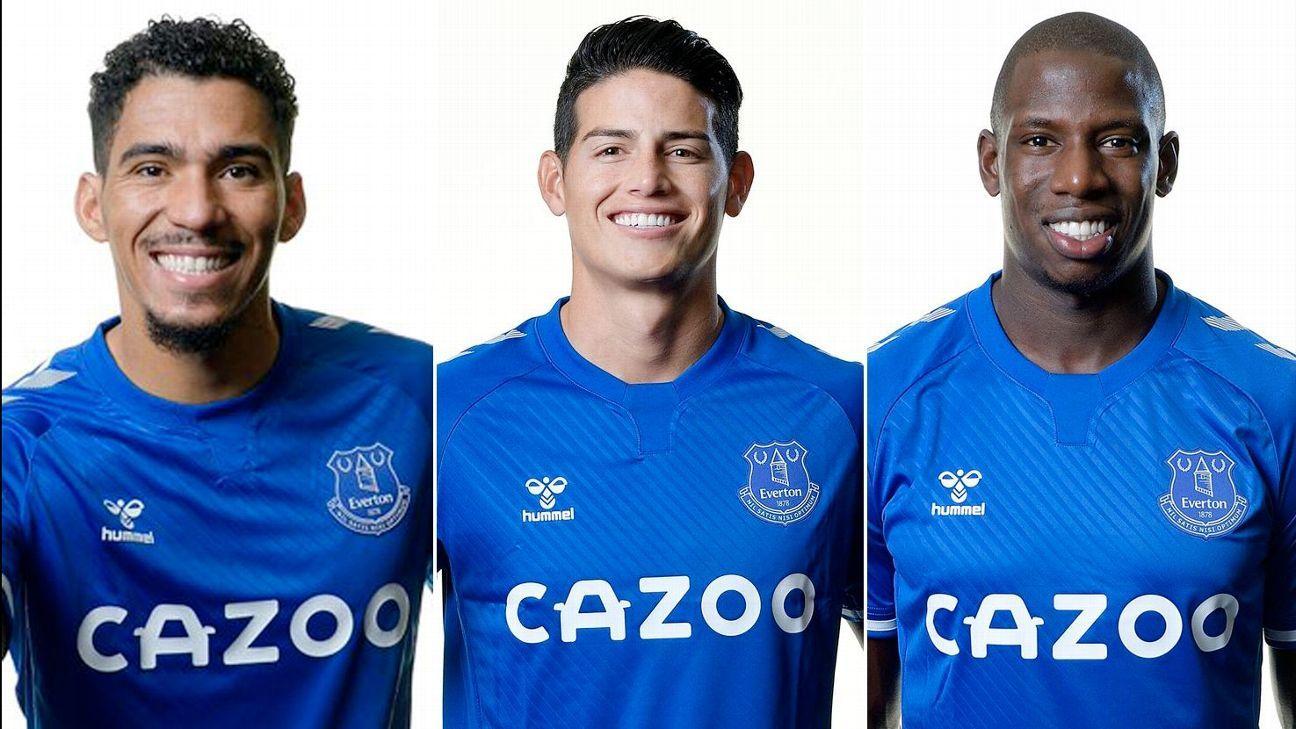 James se prepara para liderar un mediocampo de primer nivel en Everton