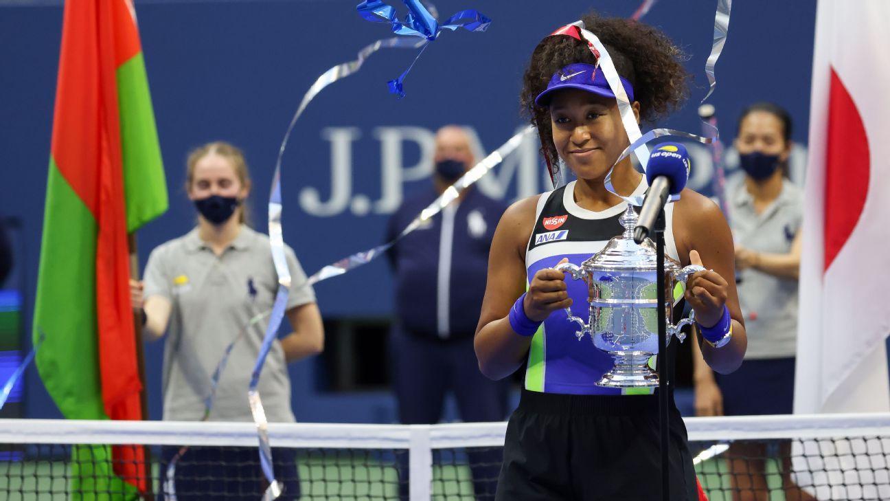 Naomi Osaka rallies for 3-set win over Victoria Azarenka to capture second US Open title – ESPN