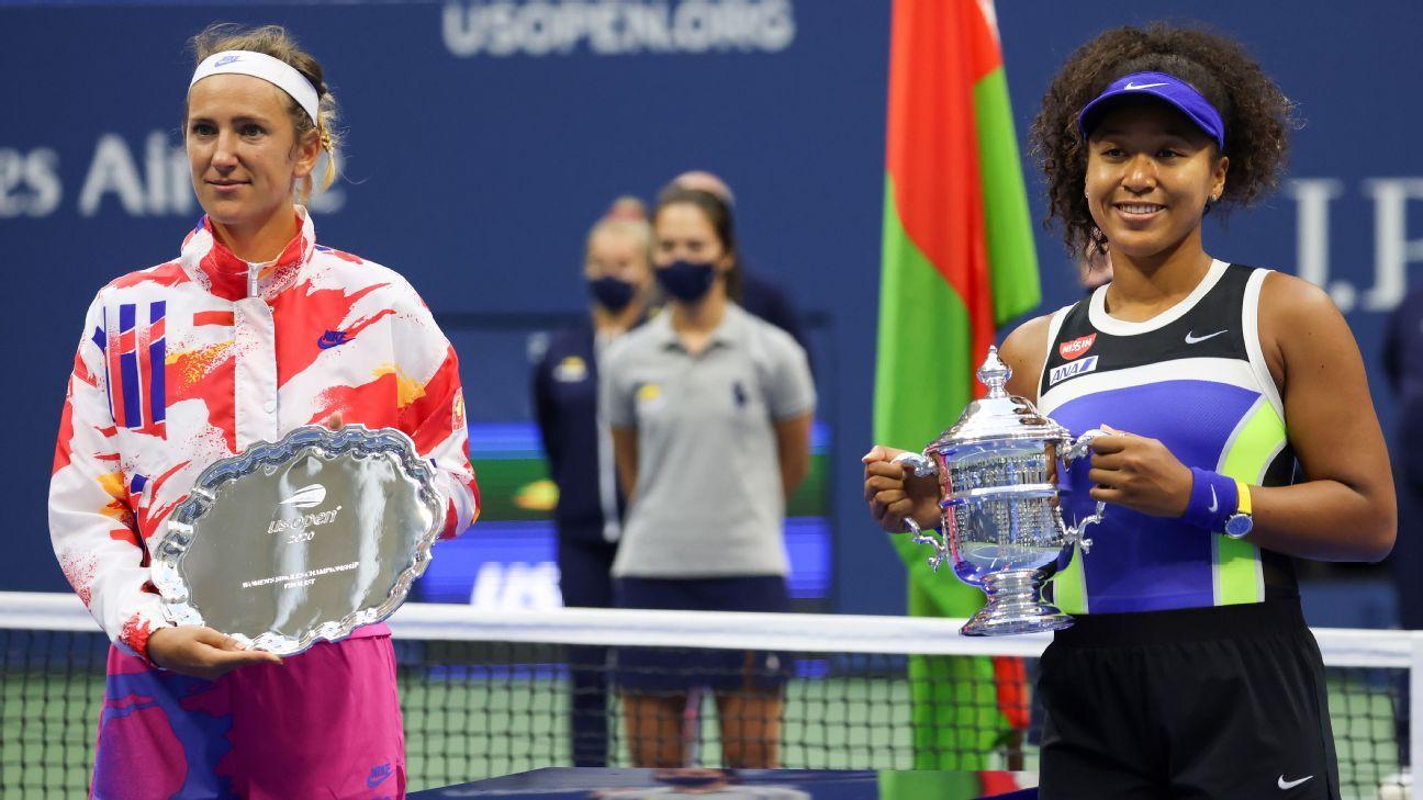Naomi Osaka's activism Novak Djokovic's legacy and more US Open takeaways – ESPN