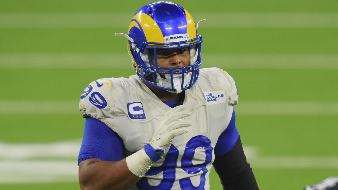 Attorney: Client mistook Rams' Donald for attacker thumbnail