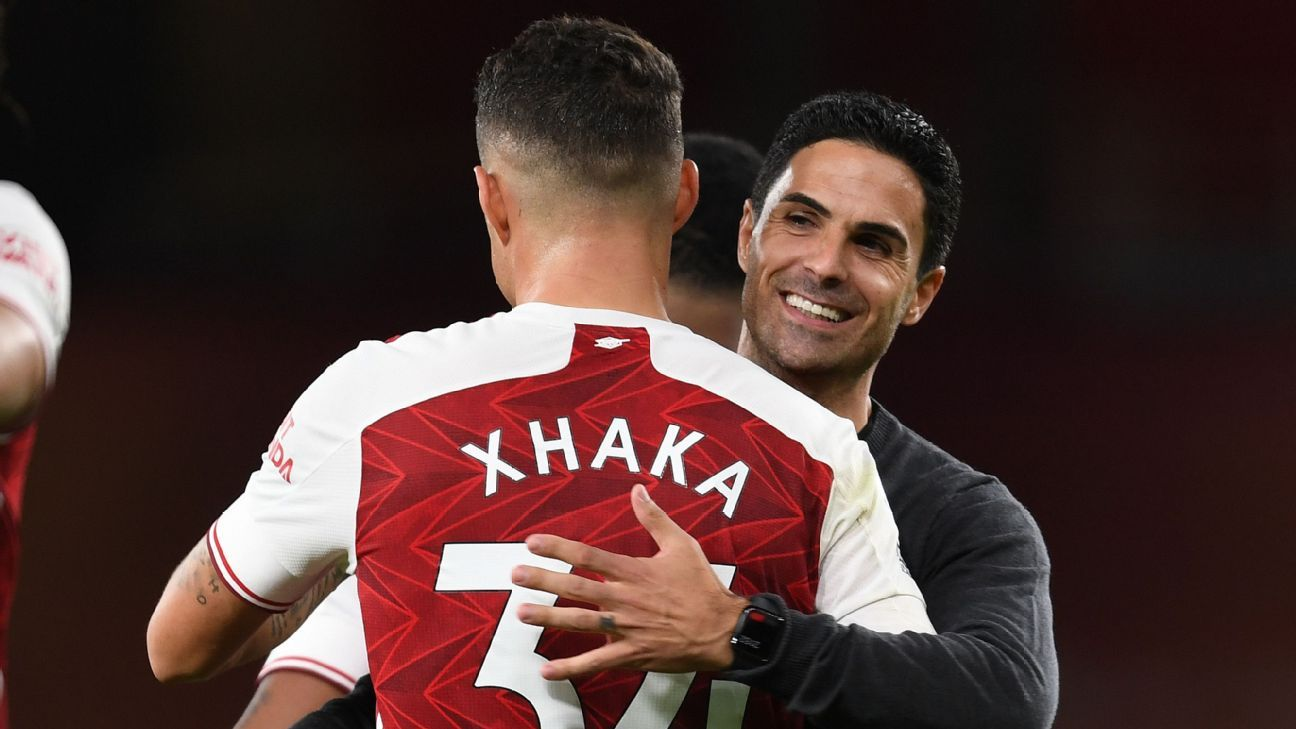 Arsenal's need for midfield help underlined by Xhaka, Ceballos frustration