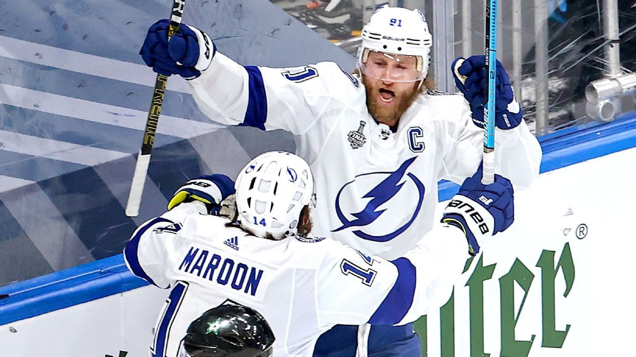 Lightning won't have Stamkos rest of series