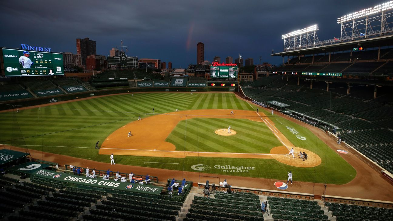 Sources: Cubs expect Wrigley crowd limits in '21