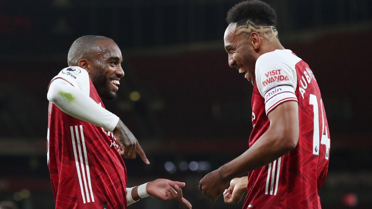 Transfer Talk: Barcelona eye Arsenal duo Lacazette, Aubameyang thumbnail