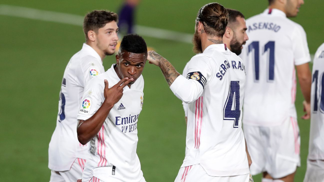 Real Madrid vs. Real Valladolid - Football Match Report ...