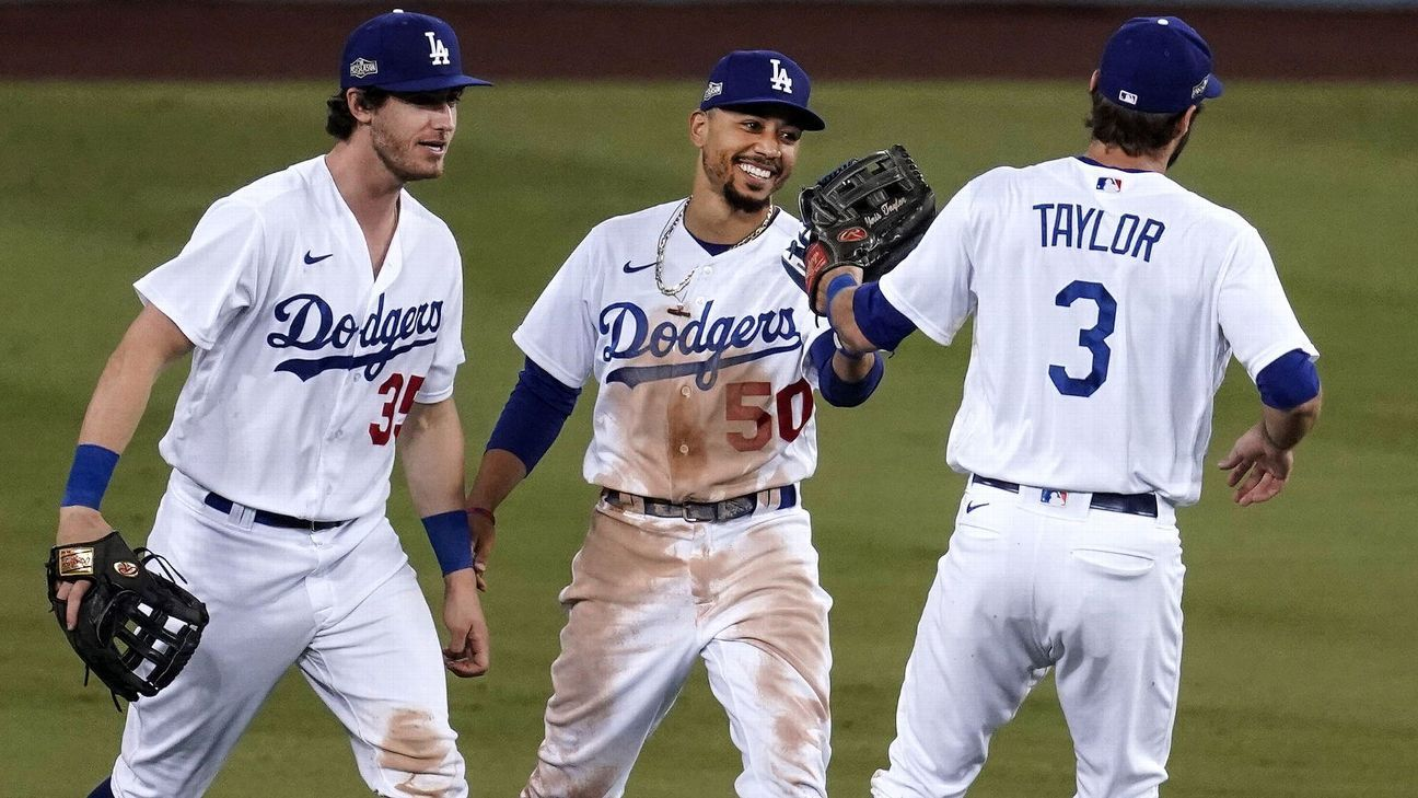 Los Angeles Dodgers' Chris Taylor out of Game 6 lineup with ankle injury – ESPN