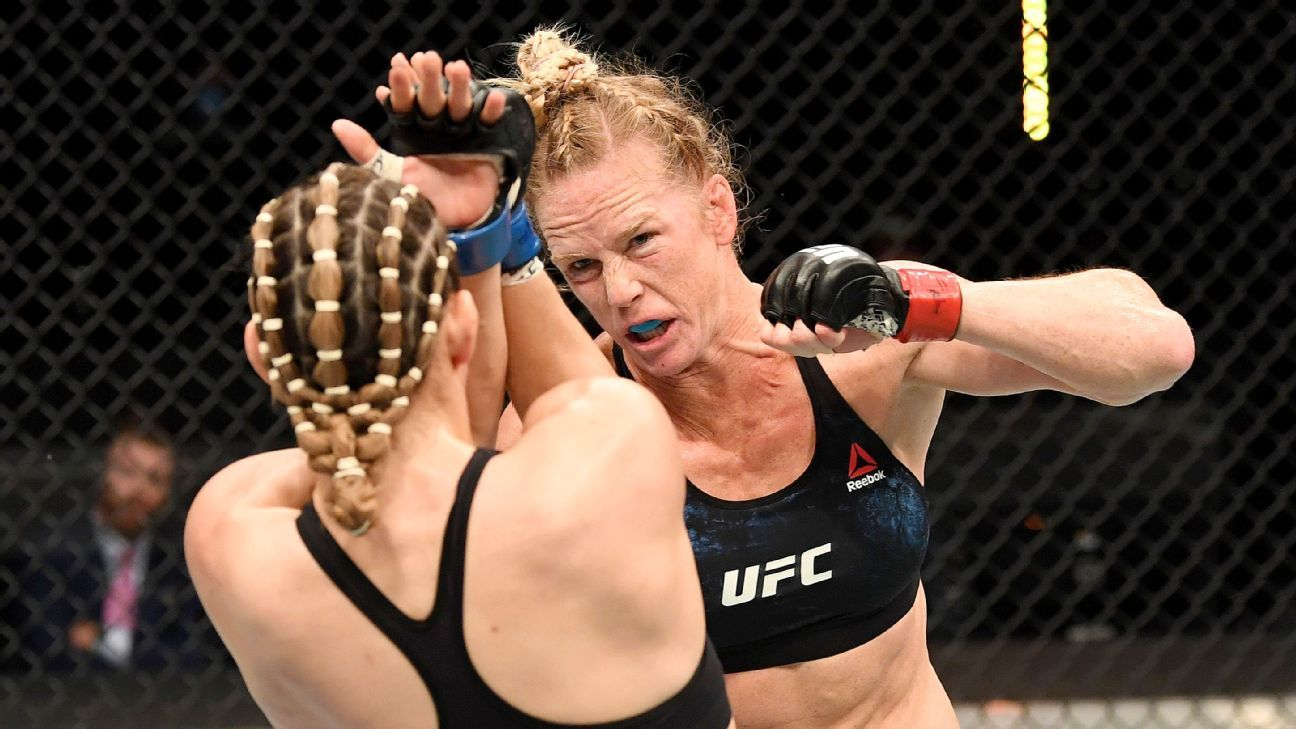 Holly Holm easily tops Irene Aldana by unanimous decision at UFC Fight Night – ESPN