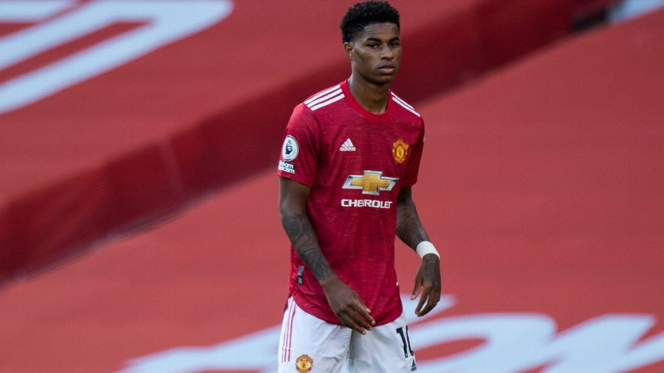 Man United S Marcus Rashford Awarded Mbe For His Work On Children S School Meals