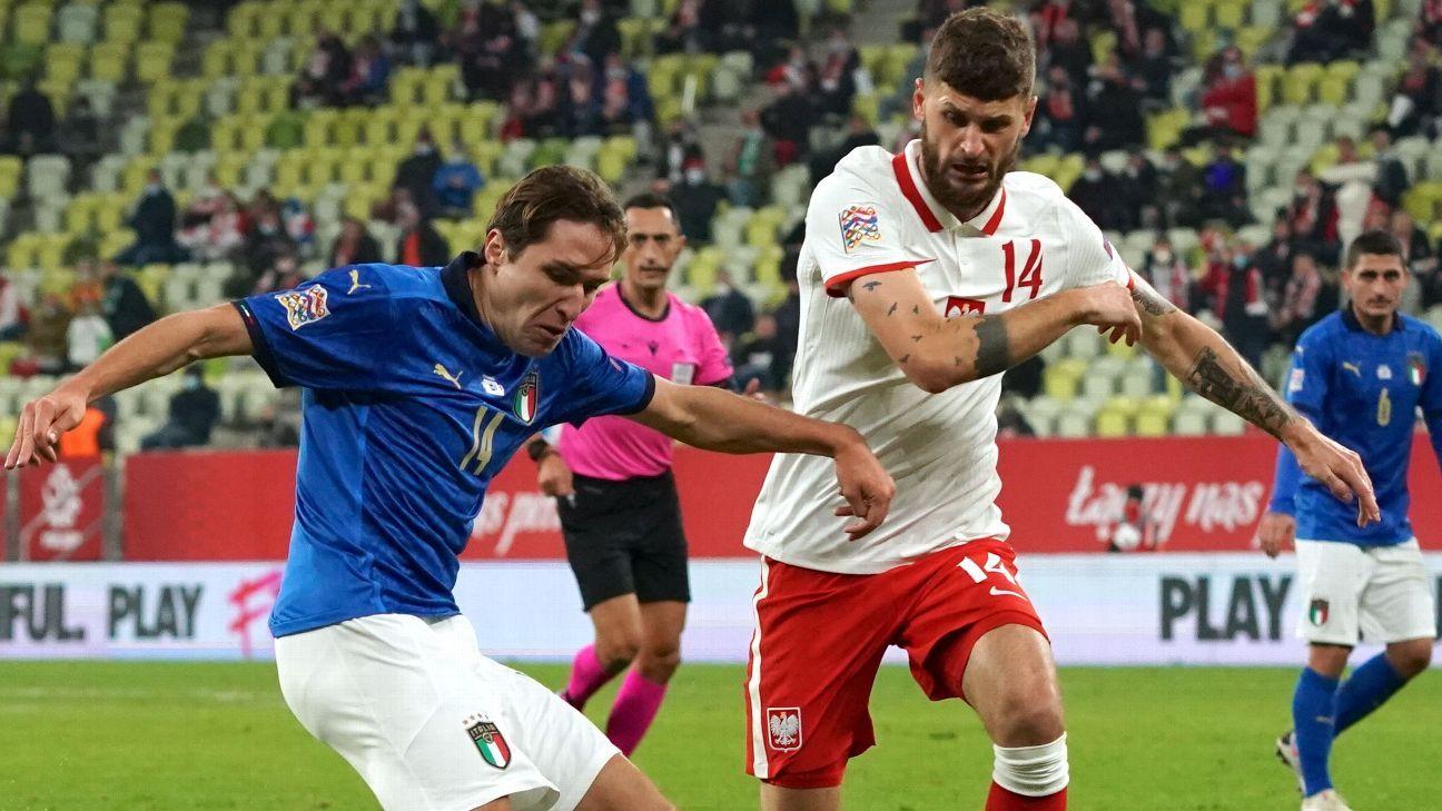 Poland vs. Italy - Football Match Report - October 11 ...
