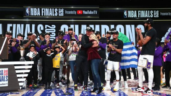 Nba Finals The Scenes Of A Lakers Title Celebration Like No Other