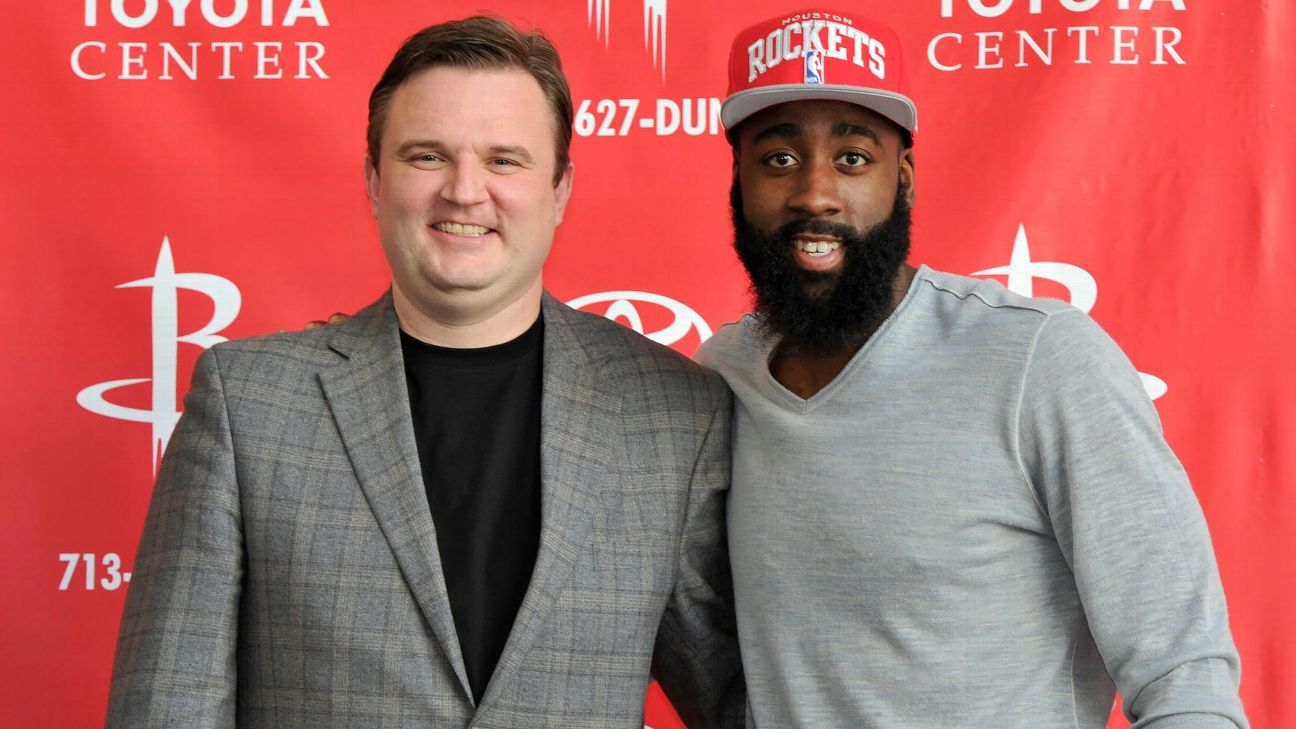 Morey in farewell ad: 'Harden changed my life'
