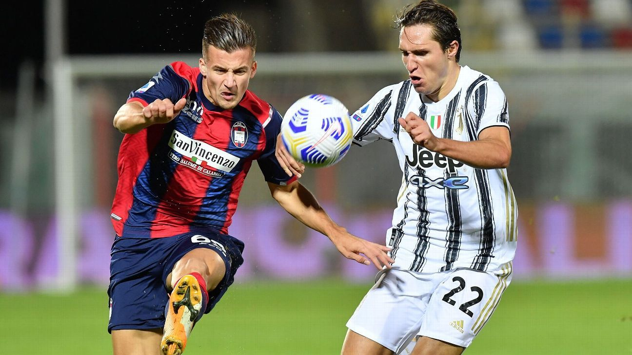 Crotone vs. Juventus - Reporte del Partido - 17 octubre, 2020 - ESPN