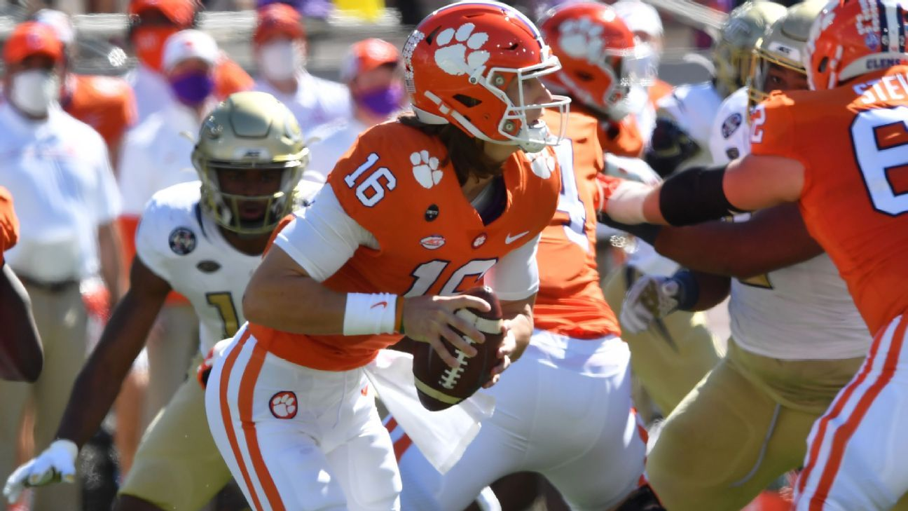 Heisman Watch -- Can anyone stop Clemson's Trevor Lawrence?