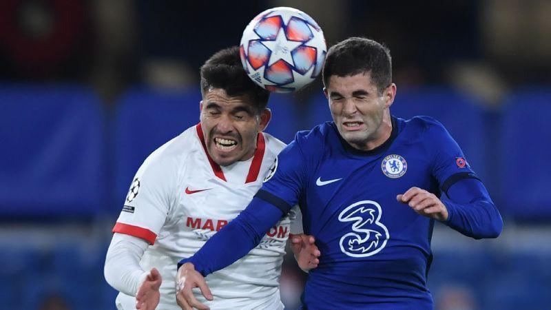 Chelsea Vs Sevilla Fc Football Match Report October 20 2020 Espn