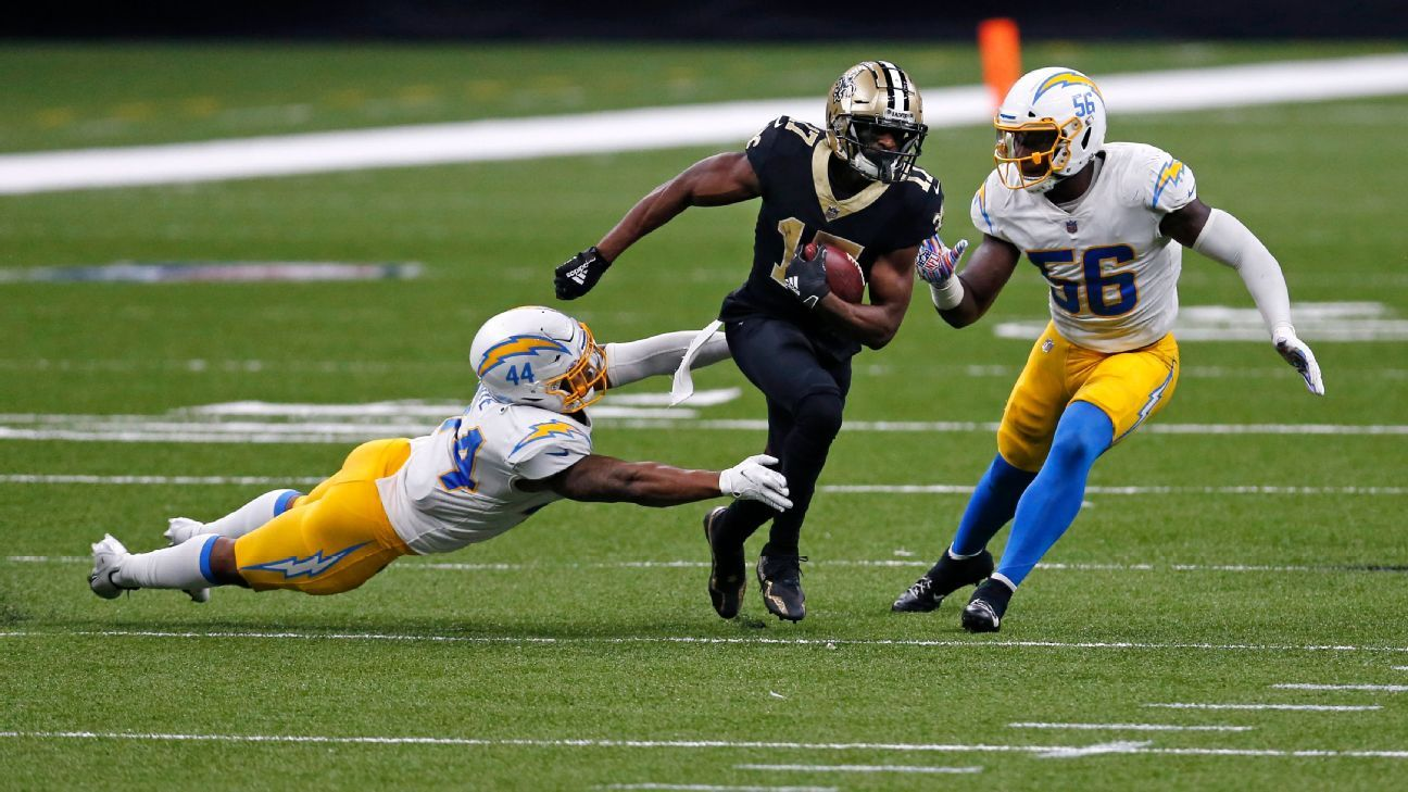 Saints Receiver Emmanuel Sanders Tests Positive for Coronavirus