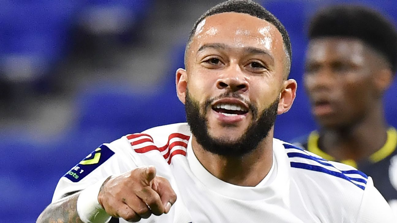Depay honours Liverpool's VVD in Lyon rout