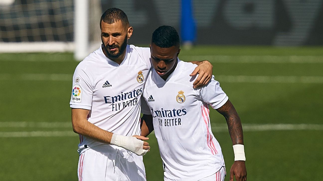 Benzema's cryptic post after Vinicius footage