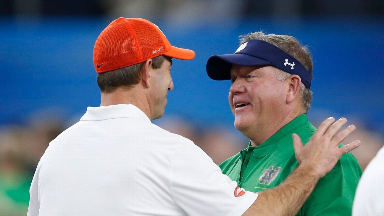 How will Clemson's trip to Notre Dame shape its CFP picture?