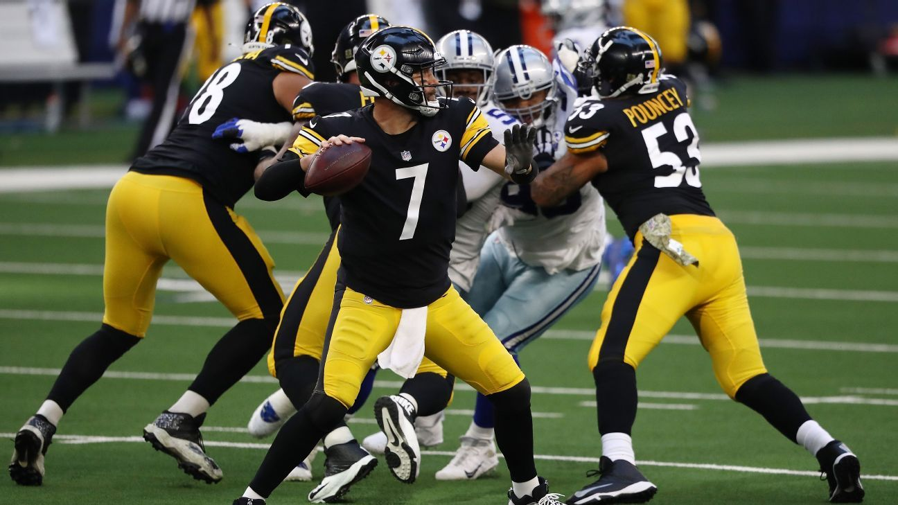 Pittsburgh Steelers reach 8-0 for first time in franchise history with ugly win over Dallas Cowboys
