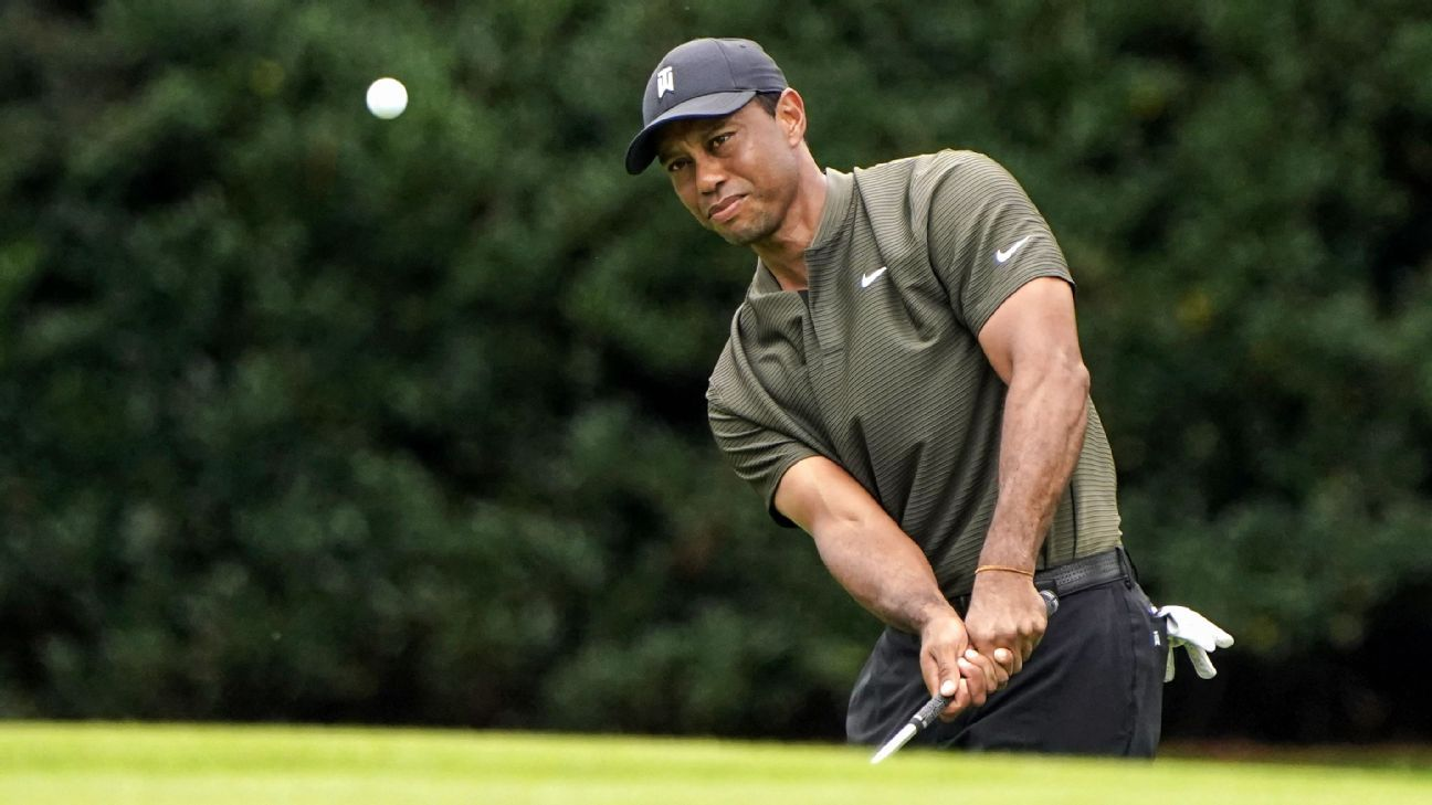 Tiger Woods Matches His Best Masters First Round Ever