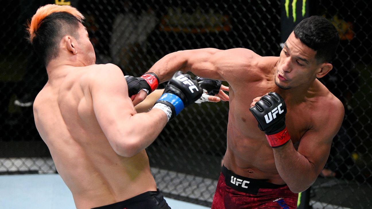 UFC Fight Night results -- Miguel Baeza remains undefeated with first submission win