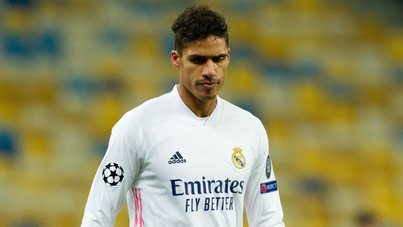 Varane's defensive woes put Real Madrid's last-16 hopes in jeopardy after  Shakhtar pull off upset