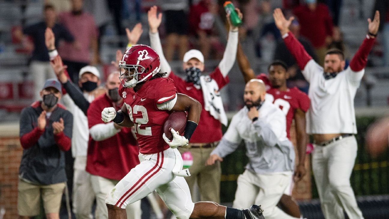 Alabama, Notre Dame, Clemson, Ohio State again lead CFP rankings as top 7 teams remain unchanged