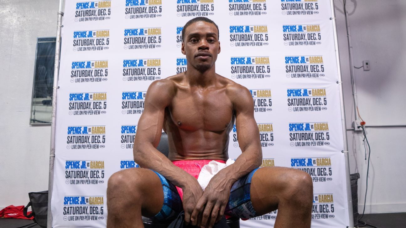 Errol Spence Jr. says he's 'grateful' he caught eye injury in time before it threatened his career
