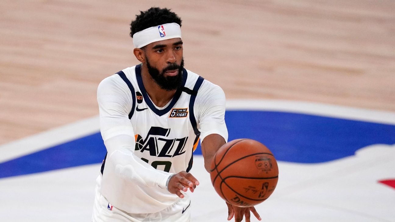 Utah Jazz rule PG Mike Conley out for Game 1 vs. LA Clippers with hamstring strain – ESPN